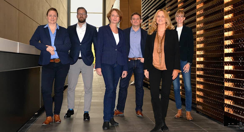 Sales Team der Düsseldorf Congress GmbH