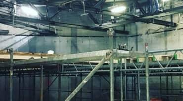 Sanierungsarbeiten im CCD Congress Center Düsseldorf