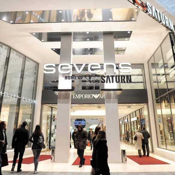Eingang Sevens Center