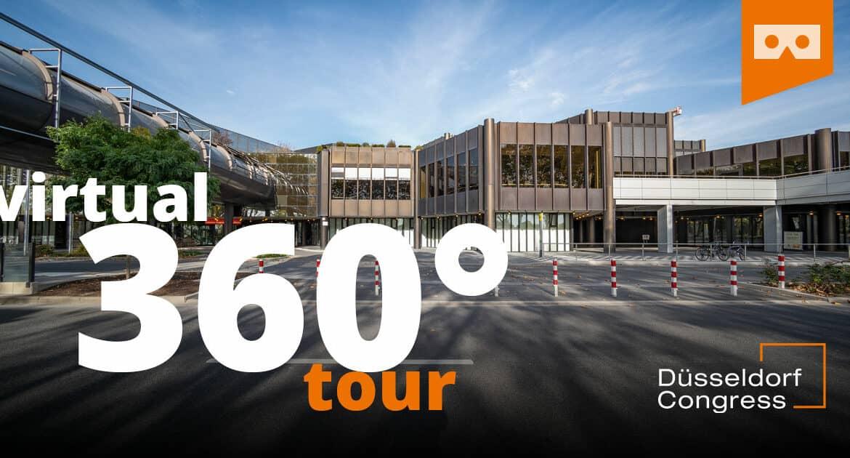 Virtueller Rundgang durch das CCD Congress Center Düsseldorf