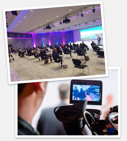 Digitale und hybride Events