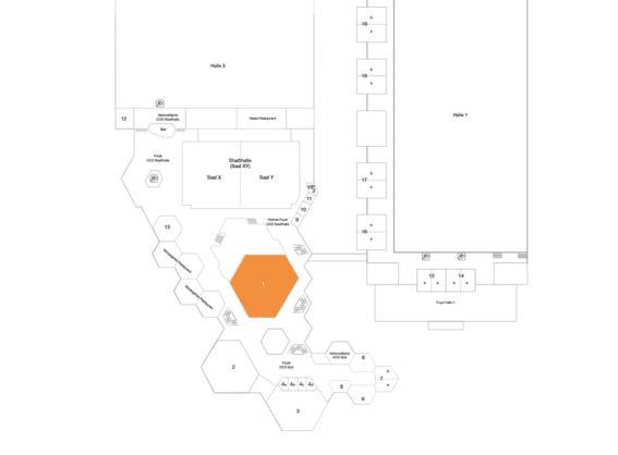 Plan CCD Süd OG Raum 1