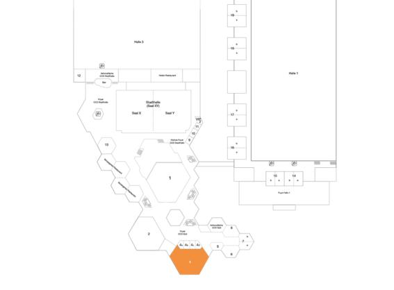 Plan CCD Süd OG Raum 3