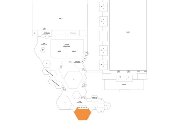Plan CCD Süd 1st Floor Room 3