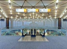 Foyer vor Raum LMR im CCD Ost