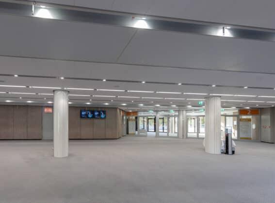 Zugang zu Raum 4 a, b, c, d