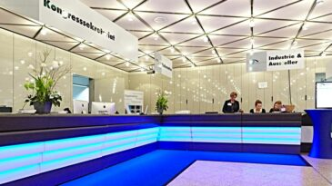 CCD Stadthalle Foyer EG