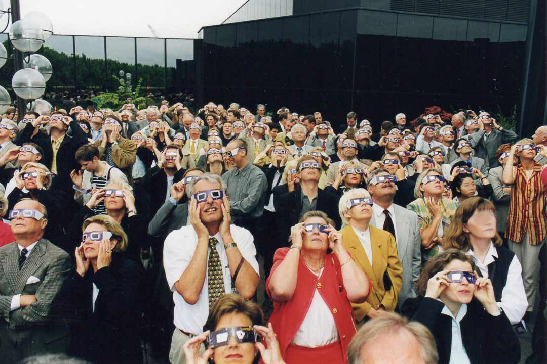 Kundenevent zur Sonnenfinsternis 1999