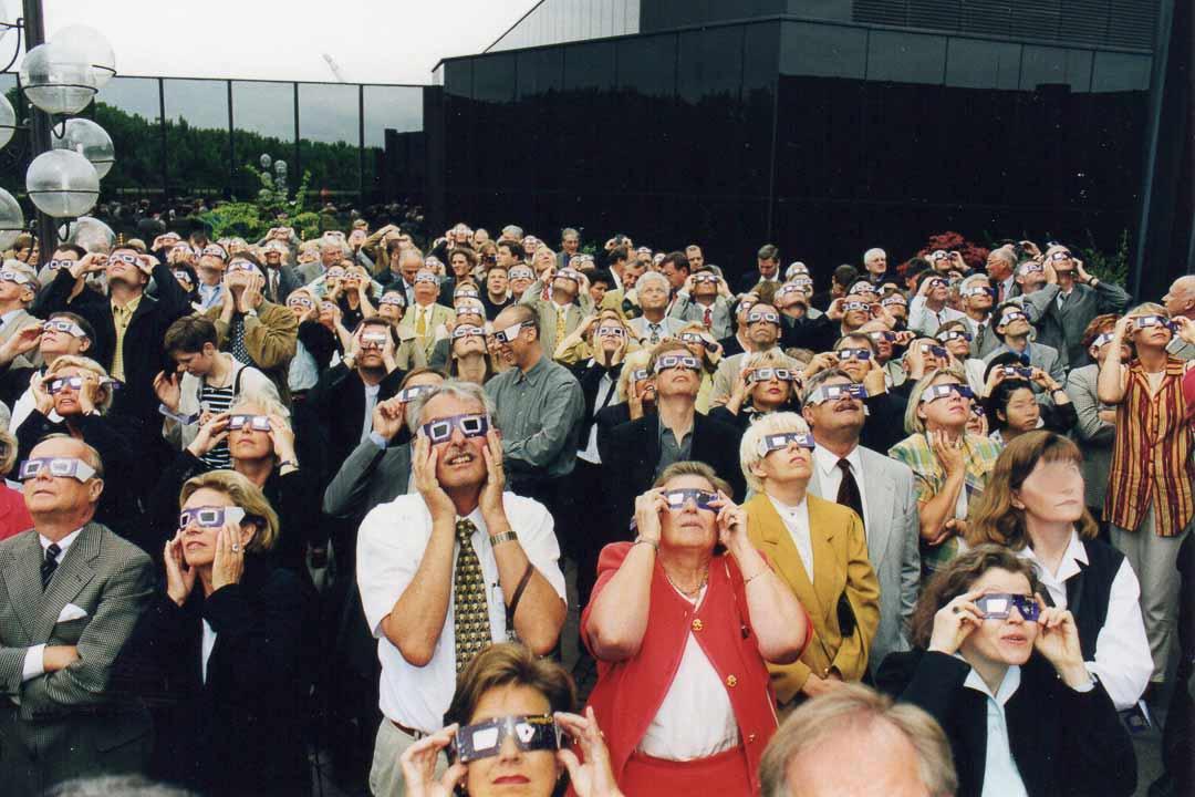 Kundenevent zur Sonnenfinsternis 1999
