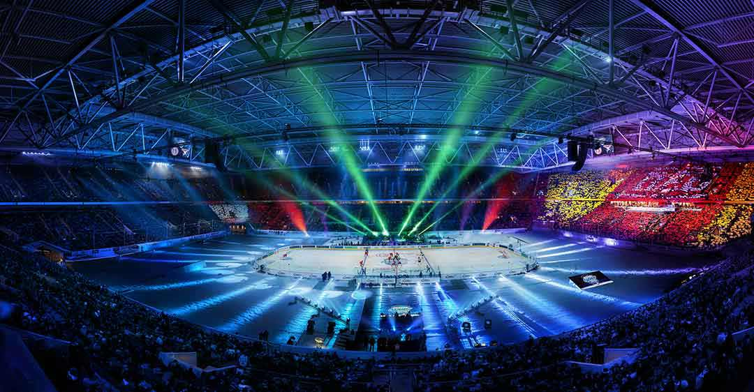 DEL Wintergame in der Arena