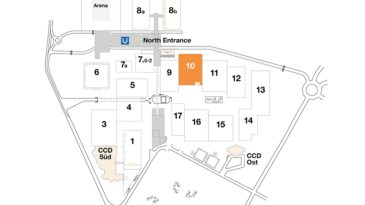 Plan CCD fair ground Exhibition hall 10