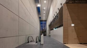 Foyer vor Raum 15 der Halle 1