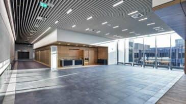 Foyer Halle 1 Blick auf das CCD und Raum 16