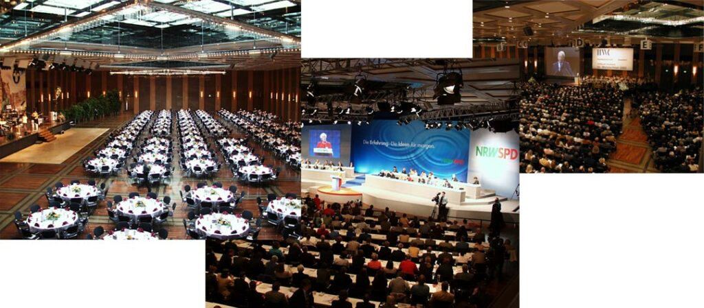 Kongresse und Jahreshauptversammlungen in der Stadthalle Düsseldorf