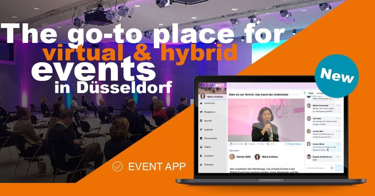 Hybrid Eventlocation in Düsseldorf
