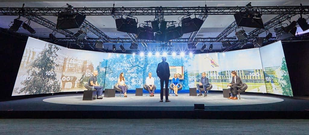 Düsseldorf Congress - Bühnenbild Raum 3