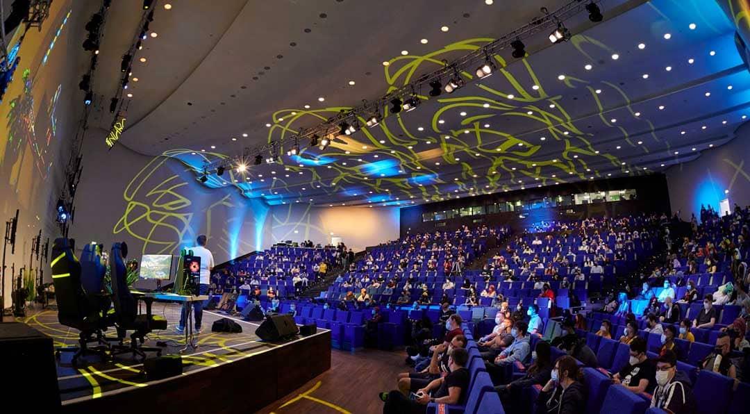 Raum 1 Bühne