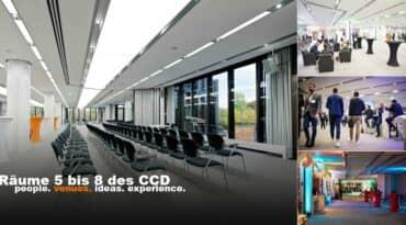 Räume 5 bis 8 CCD Düsseldorf Congress