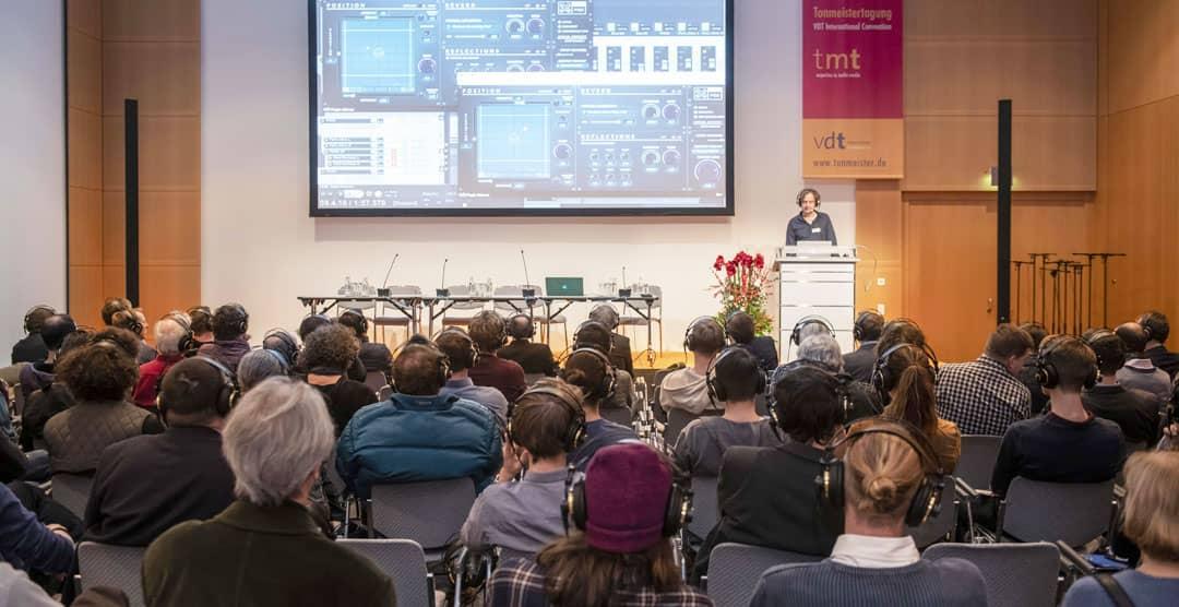 Tonmeistertagung im Congress Center Düsseldorf